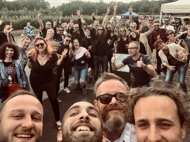 Groupe Asphalte, Spade Moto, 2020.