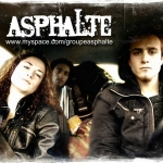 Asphalte, groupe asphalte, EP, rock français, Jason Feugray, Mickaël Feugray, Léo Dubois, Fanny Léger, Félix Carel, Le Havre.